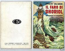 emilio salgari racconti illustrati racconti avventure 48 rare 1° edition 1936