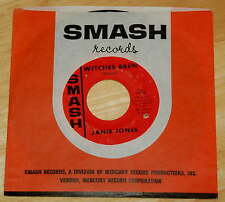 Janie Jones 45 Witches Brew / Take-A My Tip  SMASH 1966  rare