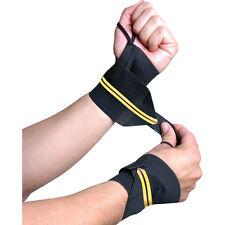New Gold's Gym Heavy Duty Wrist Wraps to Increase Stability NIB