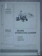 100.262301- Sears Tractor- Hydraulic Loader Owners Manual on CD