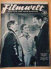 FILMWELT 8 -  24.2. 1935 Magda Schneider Hans Moser Käthe Gold Karl Ludwig Diehl