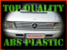 MERCEDES VITO W638 HEADLIGHT BROWS EYELIDS EYEBROWS ABS PLASTIC TUNING