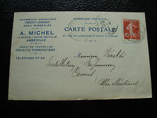 FRANCE - carte 1912 (cy23) french