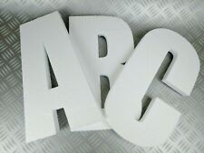 3D Polystyrene Decorative Letters/Numbers - 1200mm high X 25mm thick