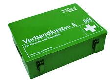 Betriebsverbandskasten, Erste - Hilfe - Koffer, DIN13169-E groß aus Stahl 25-180
