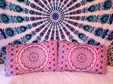 Indian Ombre Mandala Floor Pillows Large Pillow Shams Bohemian Cushion Cover