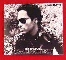 Lenny Kravitz It Is Time For A Love Revolution CD PROMO Copy