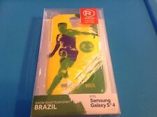Samsung Galaxy S4 Snap On Case-hard-Brazil-soccer-durable-LIMITED EDITION