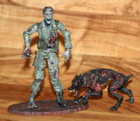 Resident Evil Code Veronica Zombie Soldier Cerberus Dog Action Figure Palisades