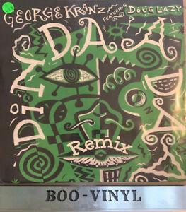 "GEORGE KRANZ -DIN DAA DAA -12"" HOUSE VINYL RECORD EX CON"