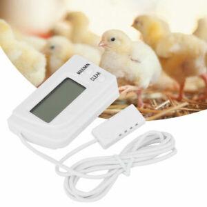 Digital Hygrometer Humidity Meter & Thermometer Sensor for Incubator Egg Poultry