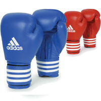 adidas Boxing Leather Competition Training Gloves - 2 Colors!