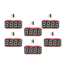 6 LED Display Module HT16K33 I2C 0.56 Inch 4 Digit Seven-Segment for Arduino