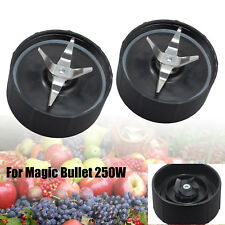 2PCS For Magic Bullet 250W Extractor Blade Juicer Cross Blender Replacement Part