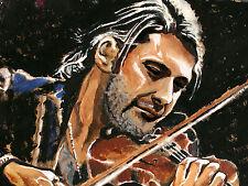 David Garrett ARTPRINT Volker Welz Essen Geiger Violine Klassik ohne Ticket AK