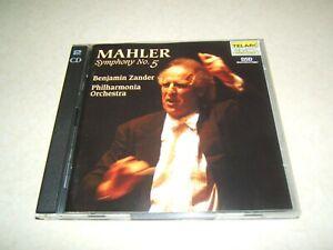 MAHLER SYMPHONY NO 5   BENJAMIN ZANDER  2 DISC  CD ALBUM  TELARC