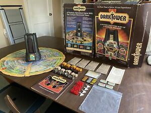 Vtg 1981 DARK TOWER Milton Bradley Board Game Tower Not Working Nearly Complete