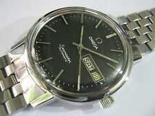 Classic OMEGA SEAMASTER Automatic Day Date Men's  Watch Nice Rare Collection