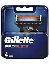 Gillette Proglide Blades 4 Cartridges Packs Microfin Guard  New Genuine Sealed