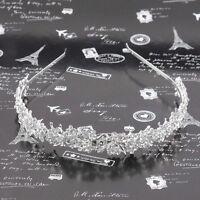 Crystal Rhinestone Headband Wedding Bridal Bride Tiara Hair Band.