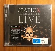 Static-X - Cannibal Killers Live (2008, CD + DVD). Pre-Owned Good Condition.