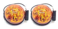 Land Rover Defender Series 88 90 109 110 LED Amber Indicator Lamp Light X2
