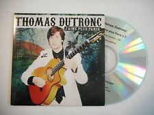 THOMAS DUTRONC : J'AIME PLUS PARIS ♦ CD SINGLE PORT GRATUIT ♦