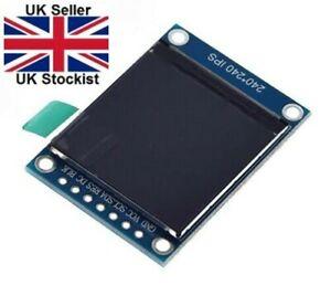 "1.3"" ST7789 240x240 SPI Colour IPS TFT LCD Screen Display STM32 Arduino UK STOCK"