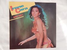 """Irene Cara """"Why Me"""" PICTURE SLEEVE! BRAND NEW! NICEST COPY ON eBAY!!"""