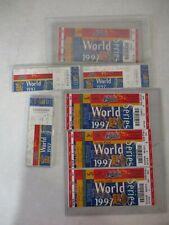 7 1997 World Series Cleveland Indians Tickets