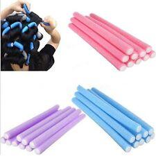 10PCS Hot Curler Maker Soft Foam Bendy Twist Curls Tool DIY Styling Hair Roller