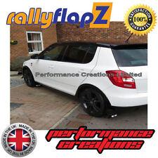 rallyflapz SKODA FABIA MK2 Monte Carlo Hatchback (2013 PARAFANGHI NERO 3mm PVC