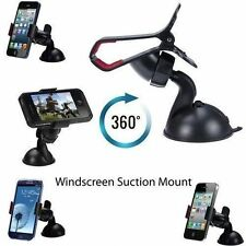 In Car Universal Windscreen Mount Suction Holder Cradle for Mobile Phone GPS MP3