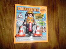 Playmobil Bauarbeiter neu & im Blister