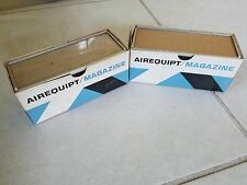 2 Vintage Airequipt 36-slide Magazines for automatic slide projector 2x2 sl