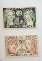 France Stamps Scott #795 To 796, Mint Never Hinged