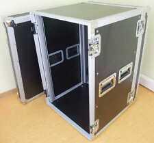 """Profi Verstärker Rack PR-2, 16 HE, 47 CM TIEF 19"""" Endstufen Rack PA Flight Case"""
