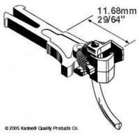 Kadee #20 NEM362 European Coupler Extra Long 11.68mm (2prs)