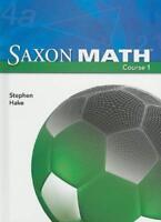 Saxon Math Course 1  - by Hake