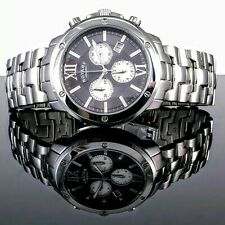 Rotary GB02837. Swiss Made Chronograph. Stainless Steel Case and Bracelet