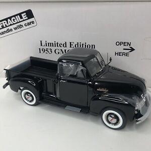 Danbury Mint 1953 GMC Pickup Truck - Black Limited Edition