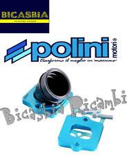 7455 - COLLETTORE ASPIRAZIONE POLINI PWK 30 PIAGGIO 50 QUARTZ - ZIP SP 2000 H2O