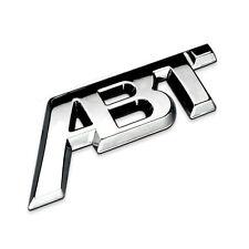Volkswagen ABT emblem refit Aluminum car badge auto Metal 3D logo sticker VW
