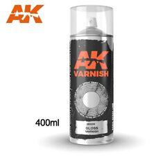 AK Interactive Gloss Varnish Spray 400ML - New