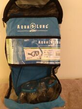 Aqua Lung Sport [Kids Series]  mask, snorkel and fins, new never used, blue