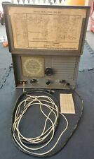 VINTAGE MILITARY U.S. NAVY SHORT WAVE DUAL BAND RADIO MORALE RECEIVER UNTESTED