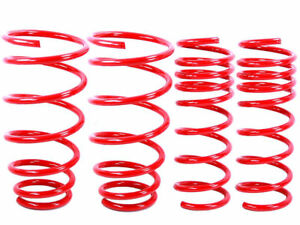RED Lowering Springs fit 79 - 04 Ford Mustang V6 V8 GT