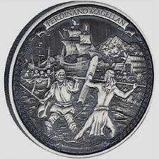 2016 Journeys of Discovery - Ferdinand Magellan 2 OZ Silver Proof Coin