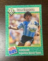 Diego Maradona Rookie #163 Soccer FIFA Sports Illustrated for Kids Rare SI Kids