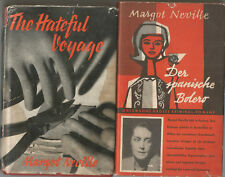 The Hateful Voyage 1956 Der spanische Bolero Margot Neville 1960 2 VINTAGE CRIME